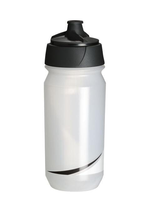 Tacx Shanti Twist Trinkflasche 500ml transparent/schwarz